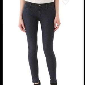 Koral color block skinny jeans, size 27